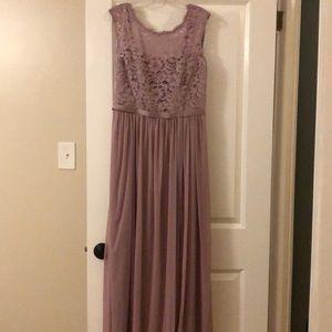 Mauve Gown